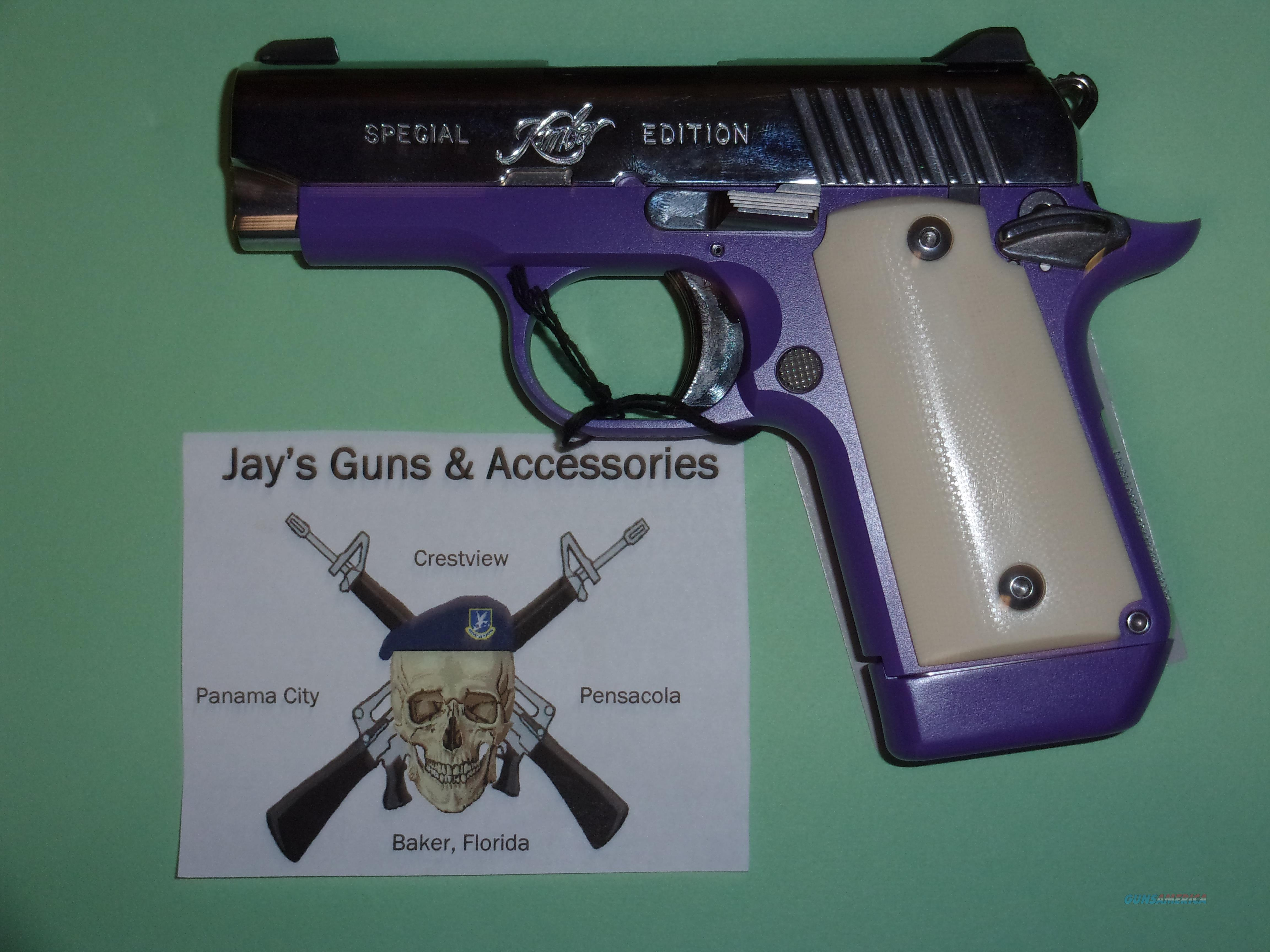 Kimber Micro 9 Violet Special Edition