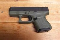 Glock 26 Gen 4 w/Battlefield green frame, three 10rd. mags.