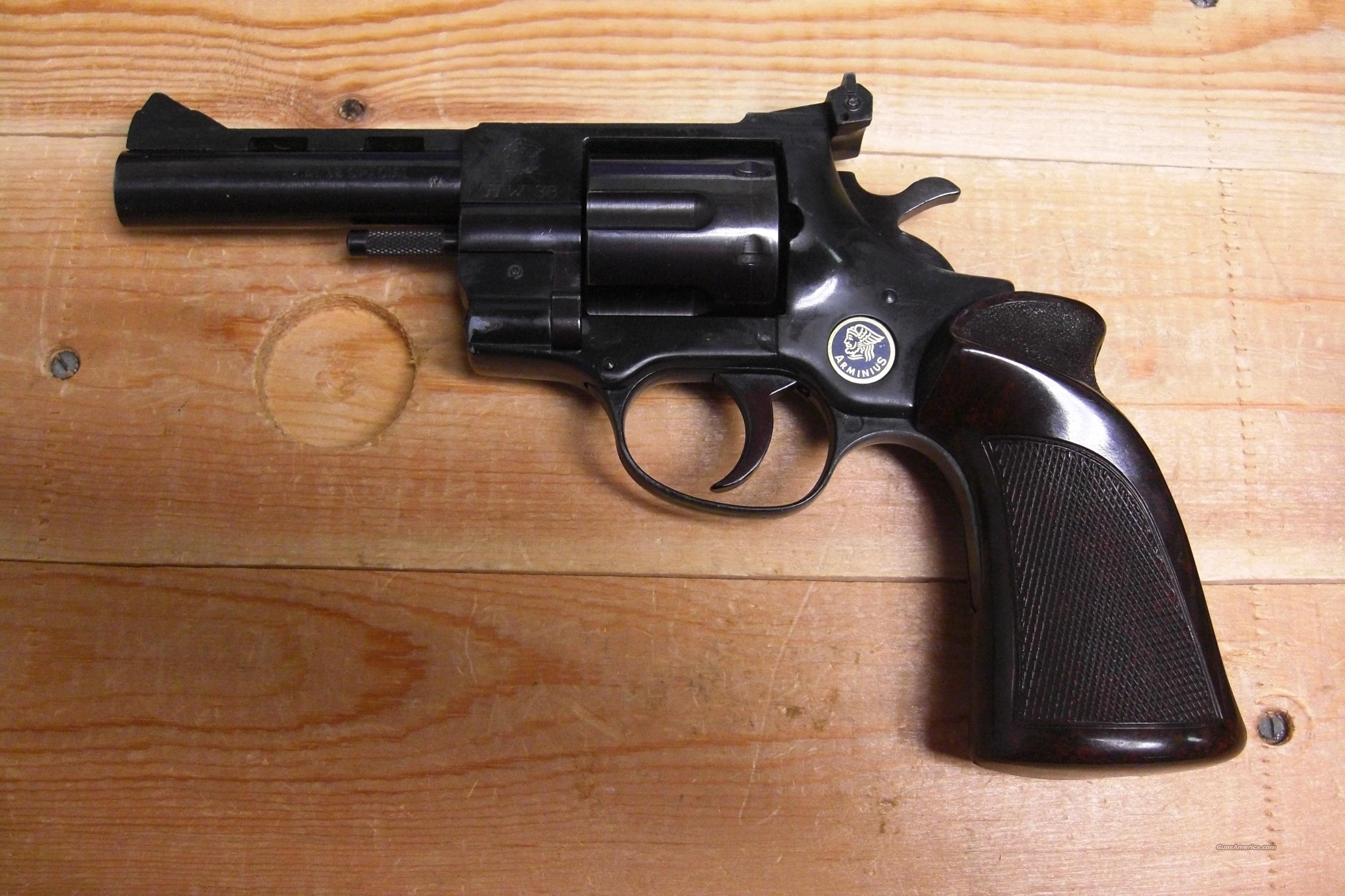 Arminius HW38 revolver