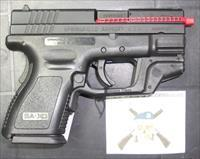 Springfield Armory XD-9 Sub-Compact w/Laser