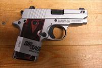 P238 HD stainless w/night sights