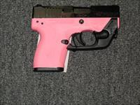 Nano w/pink frame with Laser Max Laser and one 8 rd, and one 6 rd mags.