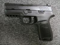 P320C (Factory Rebuilt, compact 9mm, night sights)