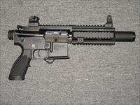HK 416 pistol w/quad railed forearm
