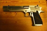 Desert Eagle Mk XIX   w/brushed chrome finish, compensator