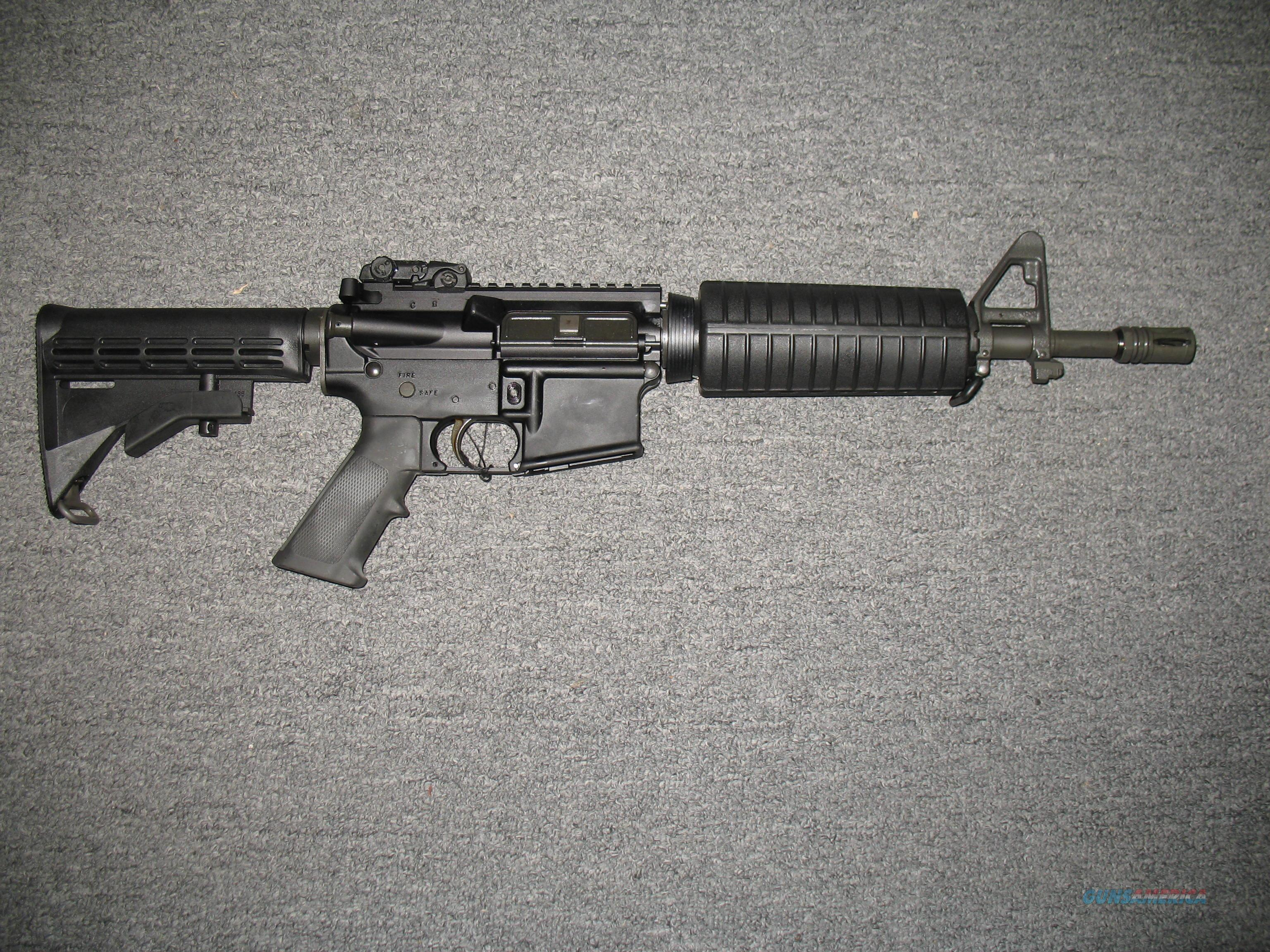 colt m4 carbine le6933 commando nfa item for sale