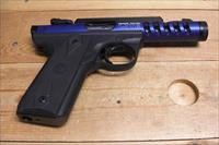 22/45 Lite w/threaded dark blue anodized bbl.