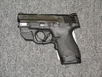 M&P 40 Shield with Crimson Trace Green Laser and Thumb Safety