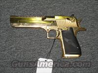 Desert Eagle  .50AE (24K gold)