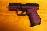 PK380  w/purple frame, black slide