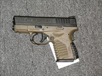 "XDS-45 w/3.3"" bbl., FDE and black finish"
