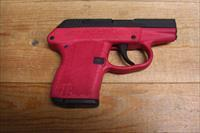 P-32  w/black slide, red frame