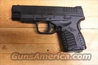 "XDS-45 w/4"" bbl., all black finish"