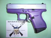 Glock 43 w/Purple Frame