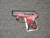 Ruger LCP w/red digital camo frame (03749)