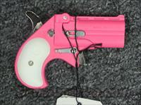 CB9 w/Pink Finish white grips
