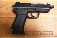 HK45 C Tactical w/night sights, threaded bbl.