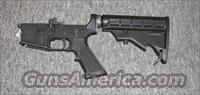 LAR-15 complete lower w/match grade trigger