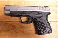 "XDS-9 w/stainless slide, 4"" bbl."