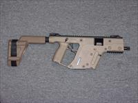 Kriss Vector SDP 9mm FDE with Arm Brace