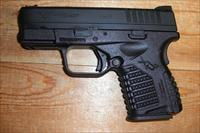 "XDS-45 w/3.3"" bbl., all black finish"