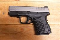 "XDS-9 w/stainless slide, 3.3"" bbl."