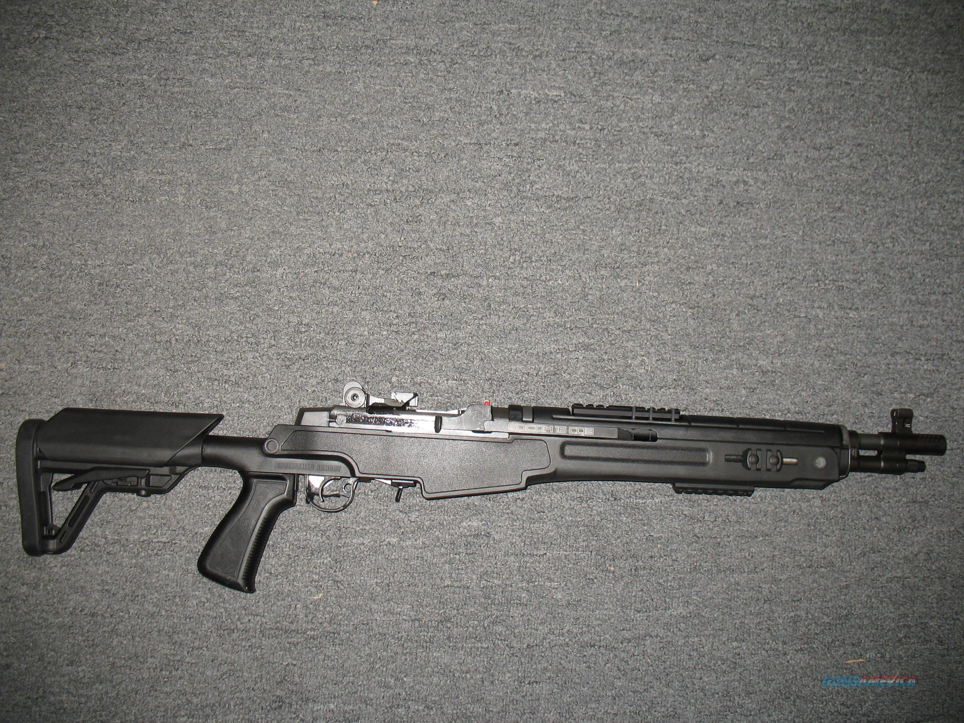 M1A SOCOM 16 CQB with Arch Angel Adjustable stock NEW MODEL AA9611