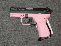PK380 Pink frame Black slide