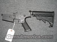 CMMG MK-3 complete lower w/collapsible stock