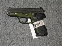 M11-A1 w/3 15 rd mags Night Sights Black and Green Finish