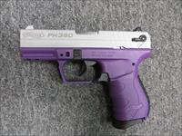 PK380 (nickel & purple, .380 ACP)