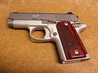 Kimber Micro 9  w/stainless slide, silver colored aluminum frame