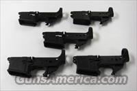 5 stripped lowers, Anderson Mfg. AM-15