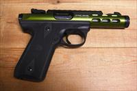 22/45 Lite w/threaded OD green anodized bbl.