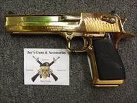 Magnum Research Desert Eagle w/24K Gold Finish