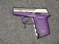 SCCY CPX-2 w/2 tone stainless and purple finish, no safety