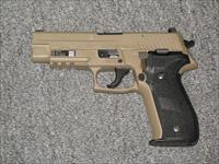 P226R Navy Mk 25 w/2 15 rd mags FDE finish