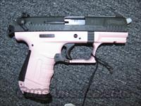 P22 pink frame, black slide