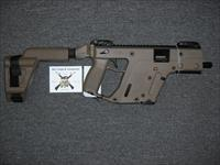 Kriss Vector SDP w/FDE Finish Uses Glock 20 Mags w/Arm Brace