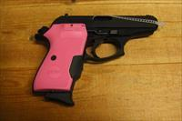 Bersa Thunder 380 w/ pink Crimson Trace red laser grips