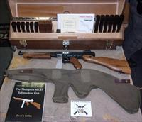 Kahr Arms/Auto Ordnance Thompson M1SB SBR w/Custom Display Case