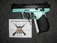 Ruger SR22 w/Turquoise & Blk Finish (03625)