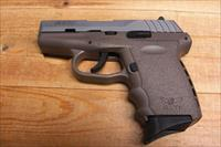 SCCY CPX-2 w/2 tone stainless and FDE finish, no external safety