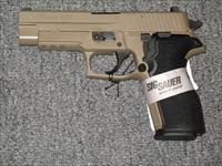 "P227 w/night sights FDE Finish 4.25"" bbl two 10rd mags"