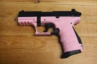 Walther P22 w/light pink frame