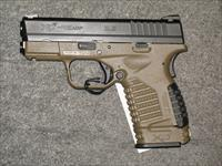 Springfield Armory XDS-45 w/FDE Frame