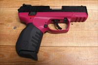 SR-22 w/2 10 rd mags, raspberry and black finish
