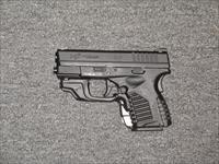 "XDS-45 w/Crimson Trace red dot laser, 3.3"" bbl."