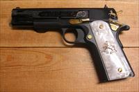 Colt 38 Super Gold Premier Edition w/scroll engraving