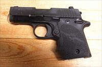 Sig Sauer P938  w/night sights, rubber grips